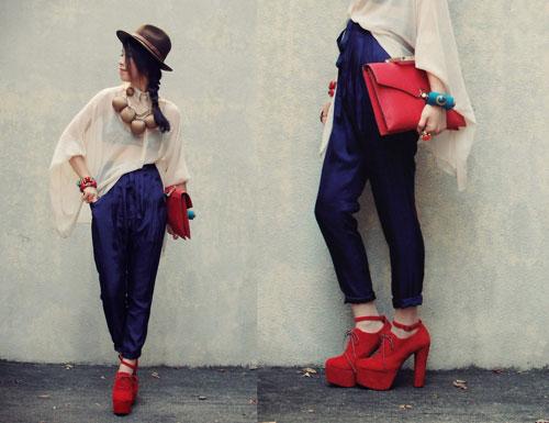 Կոշիկները եւ պայուսակը նույն գույնի համադրությամբ. արդյոք նորաձեւ է այս տարբերակը