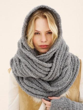 Шарф спицами. Более 50 схем вязание шарфа спицами с ...