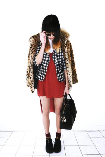 фото красное платье 7