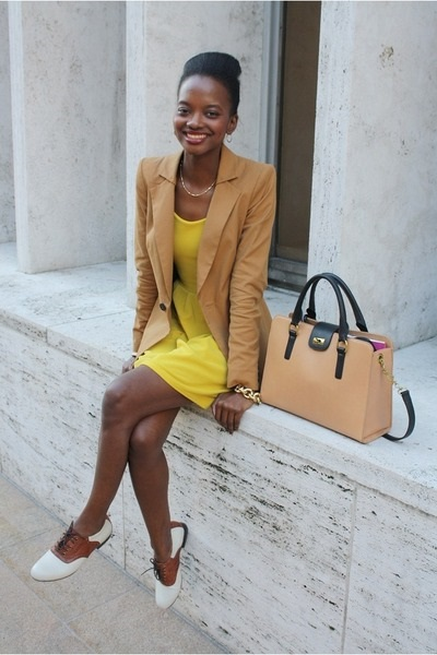 фото желтое платье 2