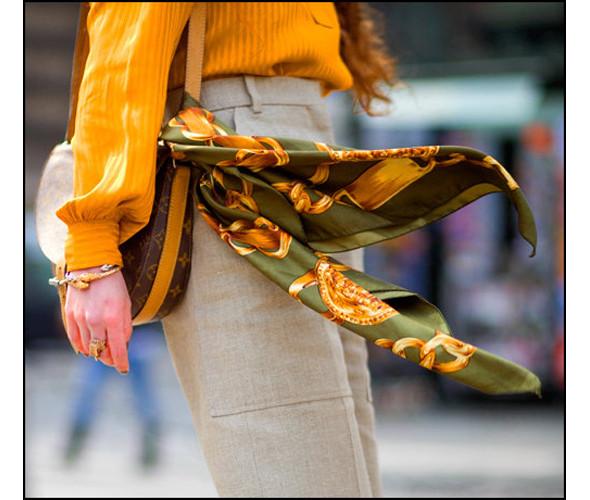 шелковый платок образ 16