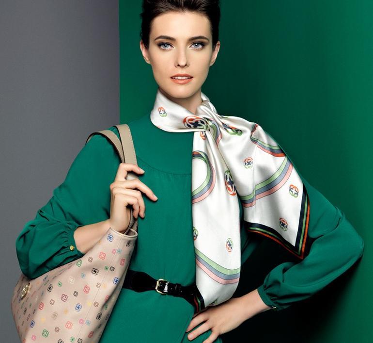 шелковый платок образ  5
