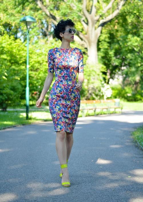 цветочное платье 6