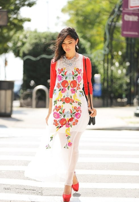 цветочное платье 5