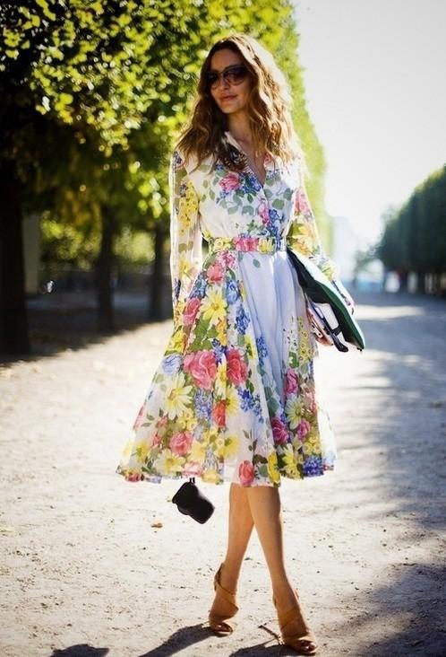 цветочное платье 2