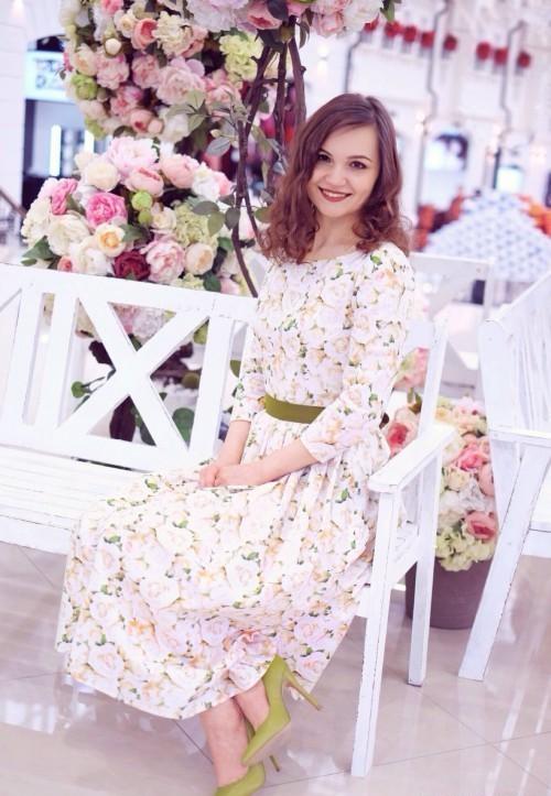 цветочное платье 3
