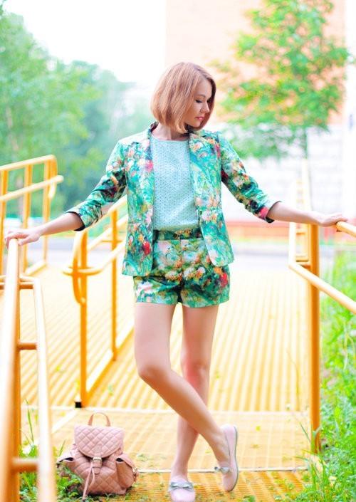 цветочный костюм 2
