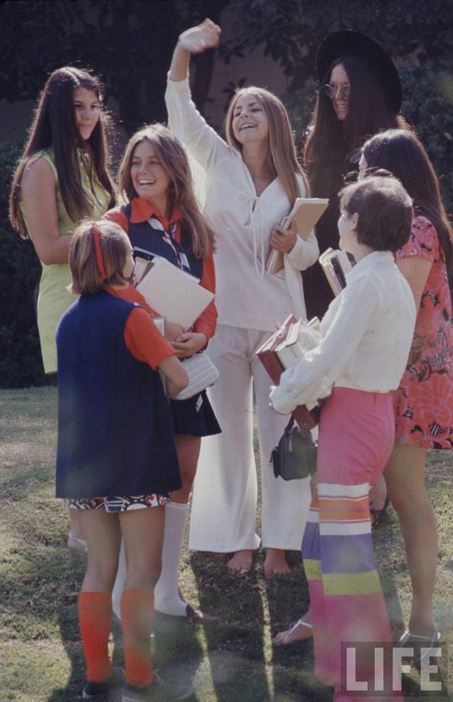 студенческая мода 60-тых