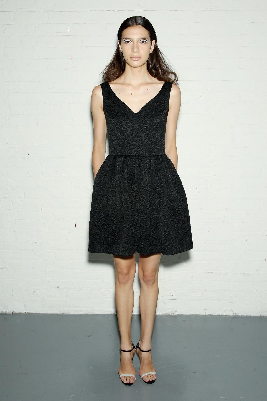 фото черное платье 2