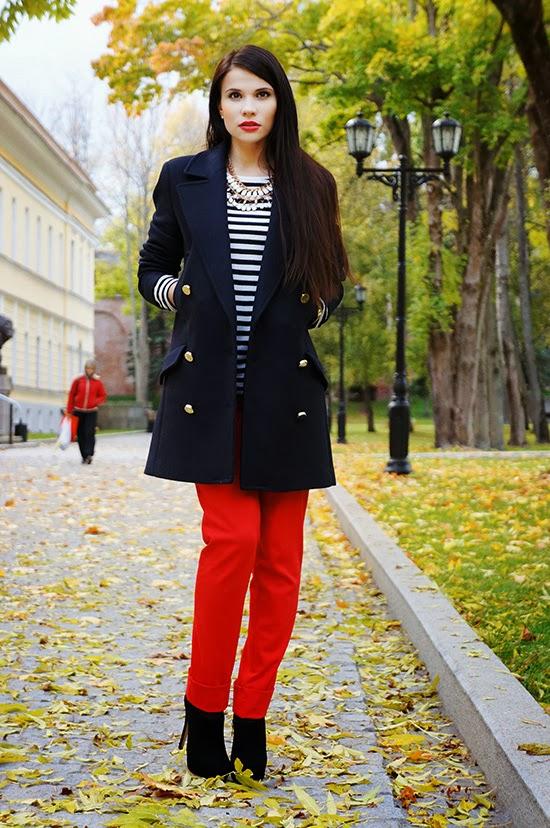 фото черное пальто 3