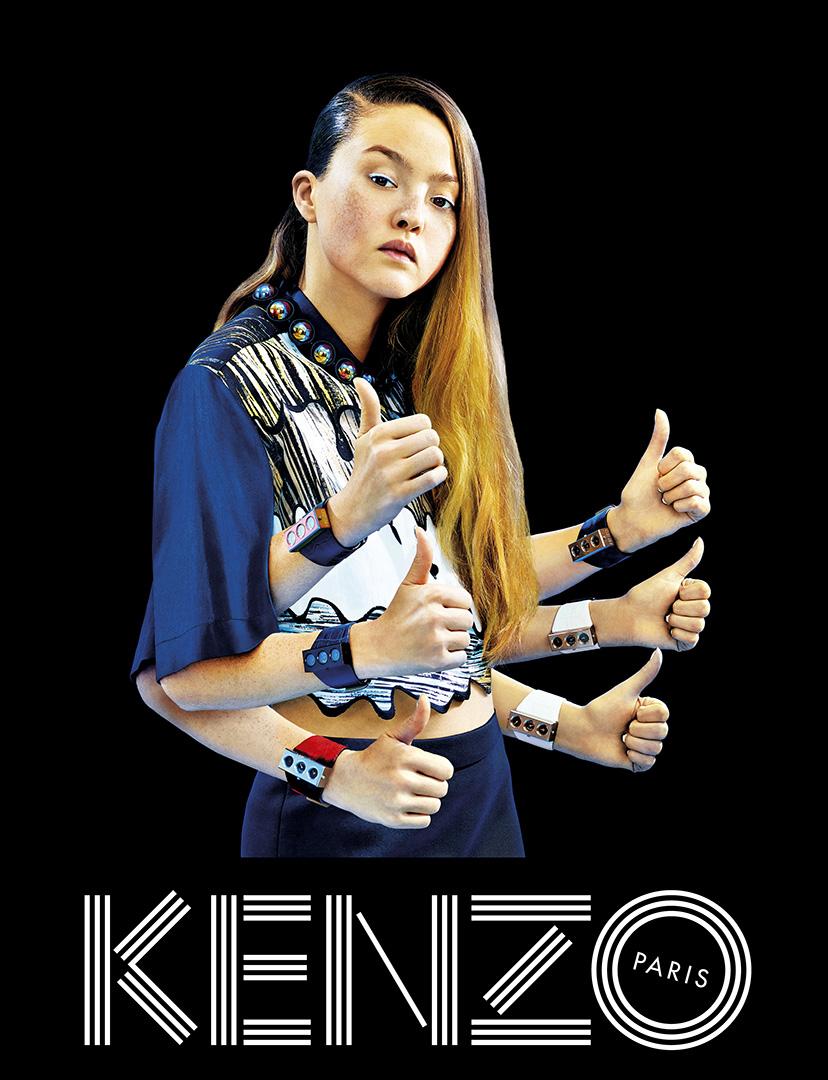 Kenzo весна-лето 2014