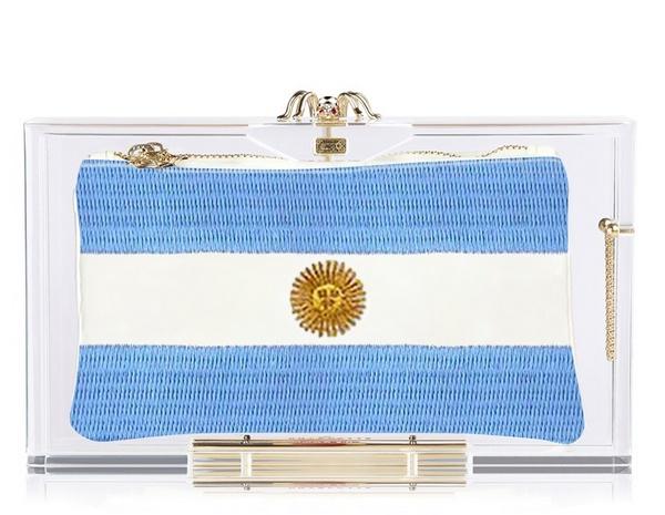 Argentina клатч Charlotte Olympia