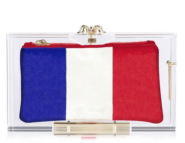 France клатч Charlotte Olympia