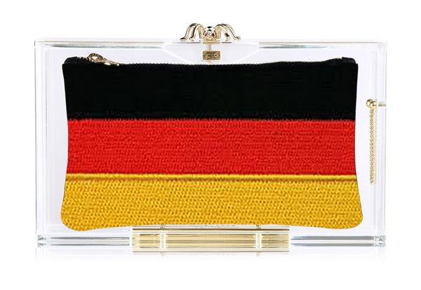 Germany клатч Charlotte Olympia