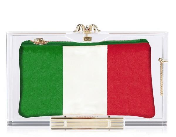 Italy клатч Charlotte Olympia
