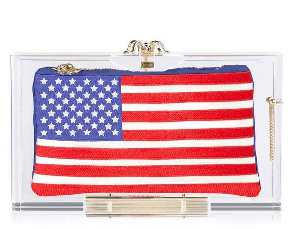 USA клатч Charlotte Olympia